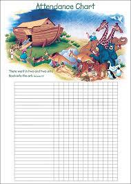 Noahs Ark Attendance Chart