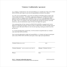 Confidentiality Agreement Template 15 Free Word Excel Pdf