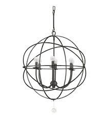 crystorama 9226 eb solaris 6 light 23 inch english bronze chandelier ceiling light in english bronze eb