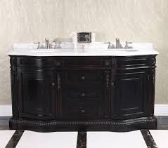 Traditional double sink bathroom vanities 84 Inch 68 Esteamshower 68