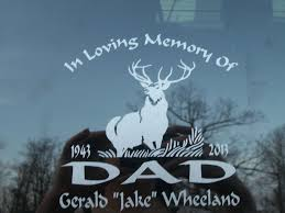 create a custom sticker or decal car stickers review after the death of my father in law we received his truck