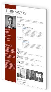 cv templates   professional curriculum vitae templatesgallant  verge resume template