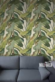 seamless self adhesive banana tree leaf pattern wallpaper removable vintage wall decals banana tree leaves wall stickers wallpapers on camo wall art self stick with seamless self adhesive banana tree leaf pattern wallpaper