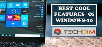 Window 10 Features 10 Cool Windows 10 Features Updated Techdim