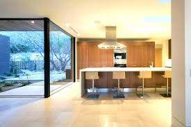 superb design of the kitchen areas with island stools added polished concrete floors home in house