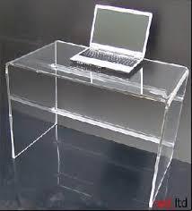 acrylic office desk acrylic office desk