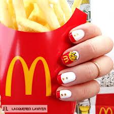 Fast Food Nail Designs Mcdonalds Im Lovin It Nail It Community Board Nail