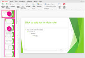 Whats A Facet What Is A Slide Master Office Support