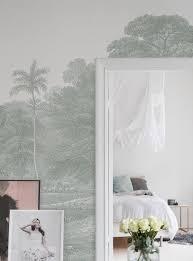 Jungle Land Verdant Tapeten Fürs Schlafzimmer Schlafzimmer