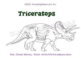 Small Picture Triceratops Coloring Page And Bebo Pandco