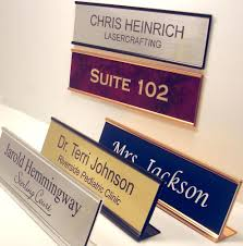 name plate for office desk or door sign plaque personalized by lasercrafting front door name plates uk wooden front door name plates front door name plaque