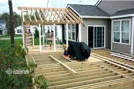 gable porch roof framing deck roofs plans gable roof deck plans deck roof construction details deck