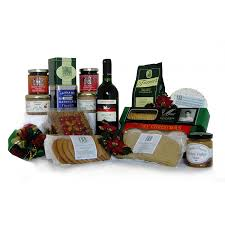 Perfect Country Hampers from Yorkshire Barwise Country Hampers. Christmas Luxuries Hamper
