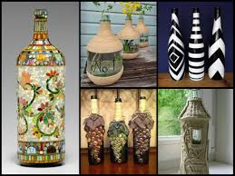 Glass Bottle Decoration Ideas 60 Beautiful Bottle Decorating Ideas DIY Recycled Room Decor 2