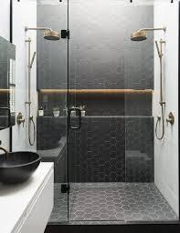 Le carrelage hexagonal de salle de bain, c'est tendance ! | small ...