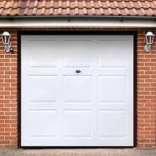 garage doorsWickes Georgian Grp Garage Door White 1981 x 2134mm  Wickescouk