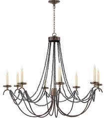 visual comfort chc1413r e f chapman marigot 8 light 44 inch hand painted rust finish chandelier ceiling light