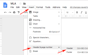 heading for mla format mla format google docs mla format