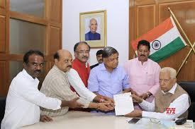 Bengaluru Bjp Legislators Submit A Memorandum To Karnataka Governor