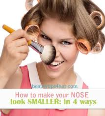 best ways to make your nose look smaller 4 basic ways diy beauty skincare