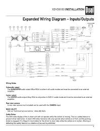 expanded wiring diagram inputs outputs xdvd8183 installation expanded wiring diagram inputs outputs xdvd8183 installation dual xdvd8183 user manual page 7 76