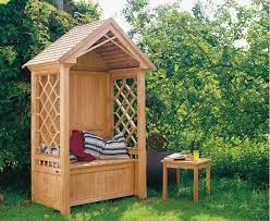 45 garden arbor bench design ideas