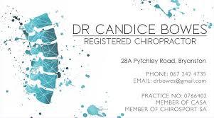 Dr Candice Bowes | Dr C Bowes