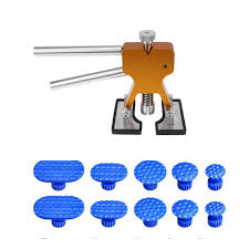 Paintless Dent Repair Tools Removal Puller Tabs Lifter Hand Tool