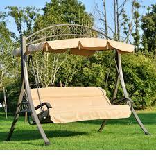 metal swing frame outdoor furniture designs