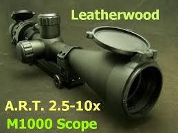 Leatherwood M1000 Art Scope Field Review
