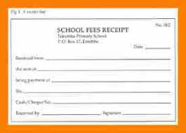 fee receipt format 7 institute receipt format retail resumes
