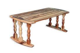 Angel Furniture Sheesham Wood Breakfast Serving Bed Table Laptop