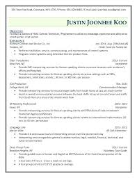 Tech Resume Templates Cover Letter Maintenance Resume Example ...