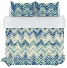 germain duvet cover set full queen sea glass