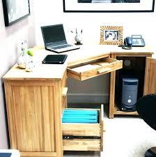 modern desk accessories wood office