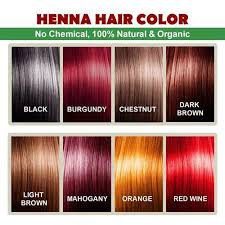 Dreamron Hair Color Chart Natural Hair Color