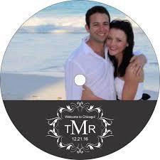 Wedding Cd Labels Filigree Monogram Wedding Cd Labels Labelsrus