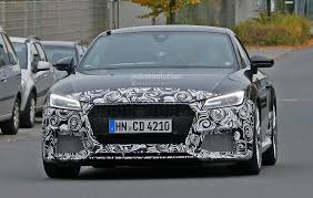 Spyshots: 2017 Audi TT-RS Production Model Seen for the First Time ...