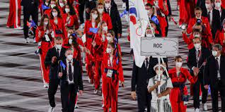 Russia, Banned at the Tokyo Olympics ...