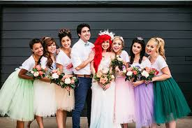 Small Picture Little Mermaid wedding photo shoot takes Disney themed nuptials