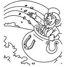 St Patricks Day Coloring Free Printable St Patricks Day Coloring Pages