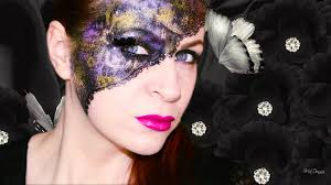 venetian lace mask for mardi gras collaboration with smashinbeauty you