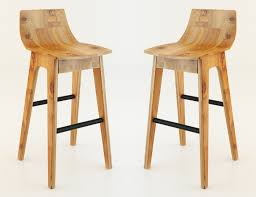 wooden bar stool 3d model max 1