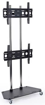 Flat Screen Display Stand Dual Monitor Floor Stand 100 Adjustable Mount for 100100100 99