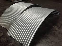 curved corrugated metal roof panels radius vintage panels modern exterior los angeles curved metal panels keywords suggestions