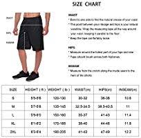 Baleaf Mens Athletic Basketball Shorts Training Workout