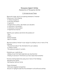 outline for a persuasive essay essay outline udl strategies  view larger
