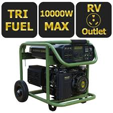 Sportsman 9 000 Watt Tri Fuel Powered Electric Start Portable