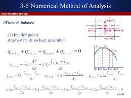 3 5 numerical method of ysis