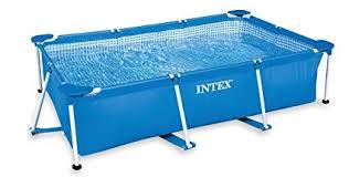 intex rectangular above ground pools. Delighful Intex Intex 85u0027 X 53u0027 213u0027 Rectangular Frame Above Ground Backyard Swimming  Pool And Pools M